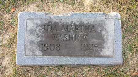 WASHICK, IDA MARTHA - Simpson County, Kentucky   IDA MARTHA WASHICK - Kentucky Gravestone Photos