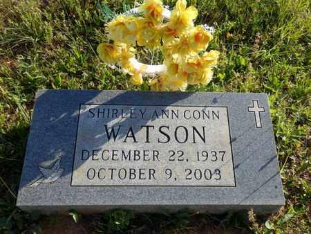CONN WATSON, SHIRLEY ANN - Simpson County, Kentucky   SHIRLEY ANN CONN WATSON - Kentucky Gravestone Photos