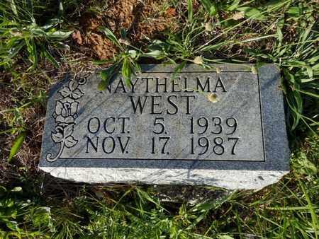 WEST, NAYTHELMA - Simpson County, Kentucky | NAYTHELMA WEST - Kentucky Gravestone Photos