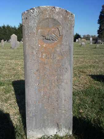 WILSON, SOPHIA C. - Simpson County, Kentucky | SOPHIA C. WILSON - Kentucky Gravestone Photos