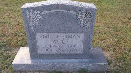 WOLF, EMIL HERMAN - Simpson County, Kentucky | EMIL HERMAN WOLF - Kentucky Gravestone Photos