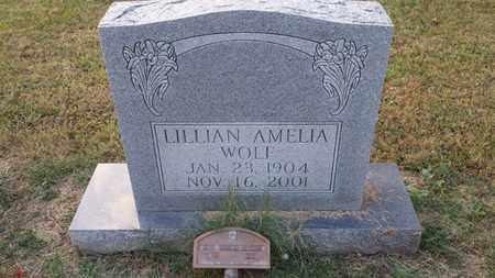WOLF, LILLIAN AMELIA - Simpson County, Kentucky | LILLIAN AMELIA WOLF - Kentucky Gravestone Photos