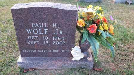 WOLF, PAUL H., JR. - Simpson County, Kentucky | PAUL H., JR. WOLF - Kentucky Gravestone Photos