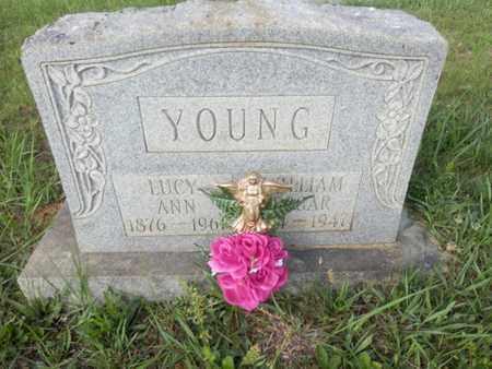 YOUNG, LUCY ANN - Simpson County, Kentucky | LUCY ANN YOUNG - Kentucky Gravestone Photos