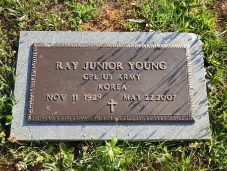 YOUNG (VETERAN KOR), RAY JUNIOR - Simpson County, Kentucky | RAY JUNIOR YOUNG (VETERAN KOR) - Kentucky Gravestone Photos