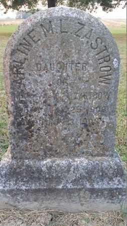 ZASTROW, ARLINE M.L. - Simpson County, Kentucky | ARLINE M.L. ZASTROW - Kentucky Gravestone Photos