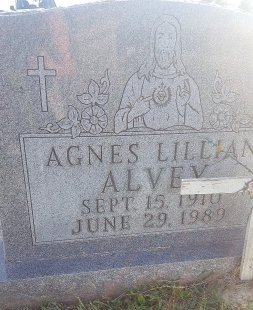 ALVEY, AGNES LILLIAN - Union County, Kentucky | AGNES LILLIAN ALVEY - Kentucky Gravestone Photos