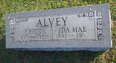 ALVEY, IDA MAE - Union County, Kentucky | IDA MAE ALVEY - Kentucky Gravestone Photos
