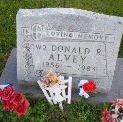 ALVEY, DONALD R. - Union County, Kentucky | DONALD R. ALVEY - Kentucky Gravestone Photos