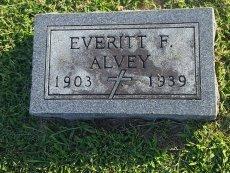 ALVEY, EVERITT F - Union County, Kentucky | EVERITT F ALVEY - Kentucky Gravestone Photos