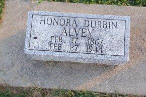 ALVEY, HONORA - Union County, Kentucky   HONORA ALVEY - Kentucky Gravestone Photos