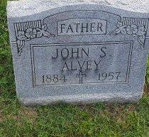 ALVEY, JOHN S - Union County, Kentucky | JOHN S ALVEY - Kentucky Gravestone Photos