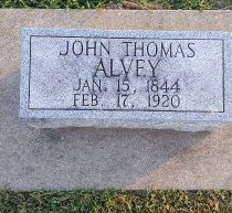 ALVEY, JOHN THOMAS - Union County, Kentucky | JOHN THOMAS ALVEY - Kentucky Gravestone Photos