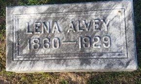 ALVEY, LENA - Union County, Kentucky | LENA ALVEY - Kentucky Gravestone Photos