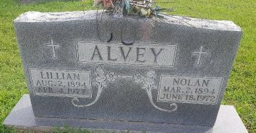 ALVEY, NOLAN - Union County, Kentucky | NOLAN ALVEY - Kentucky Gravestone Photos