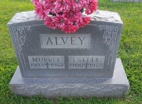 ALVEY, ESTELL - Union County, Kentucky   ESTELL ALVEY - Kentucky Gravestone Photos
