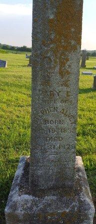 ALVEY, MARY ELLEN  - Union County, Kentucky   MARY ELLEN  ALVEY - Kentucky Gravestone Photos