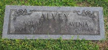 ALVEY, LAVENIA - Union County, Kentucky | LAVENIA ALVEY - Kentucky Gravestone Photos