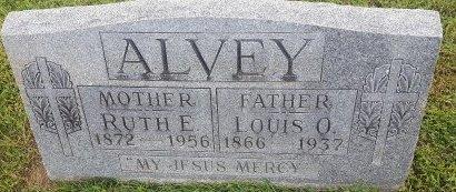 ALVEY, LOUIS O - Union County, Kentucky | LOUIS O ALVEY - Kentucky Gravestone Photos