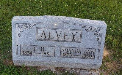 ALVEY, AMANDA ANN - Union County, Kentucky   AMANDA ANN ALVEY - Kentucky Gravestone Photos