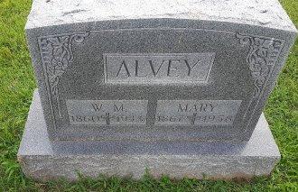 ALVEY, MARY - Union County, Kentucky   MARY ALVEY - Kentucky Gravestone Photos