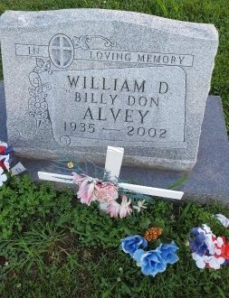 "ALVEY, WILLIAM D ""BILLY DON"" - Union County, Kentucky 