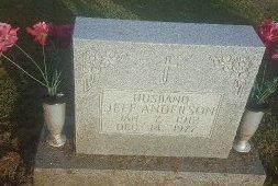 ANDERSON, JEFF - Union County, Kentucky | JEFF ANDERSON - Kentucky Gravestone Photos
