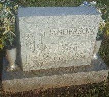 ANDERSON, LONNIE - Union County, Kentucky | LONNIE ANDERSON - Kentucky Gravestone Photos