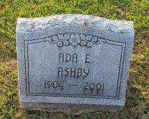 ASBHY, ADA E - Union County, Kentucky | ADA E ASBHY - Kentucky Gravestone Photos