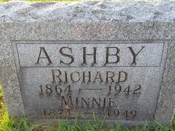 ASHBY, MINNIE - Union County, Kentucky | MINNIE ASHBY - Kentucky Gravestone Photos
