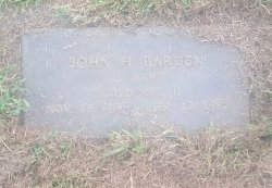 BARDEN (VETERAN WW2), JOHN H - Union County, Kentucky | JOHN H BARDEN (VETERAN WW2) - Kentucky Gravestone Photos