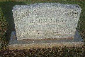 BARRIGER, EDNA M - Union County, Kentucky | EDNA M BARRIGER - Kentucky Gravestone Photos