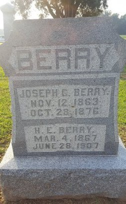 BERRY, JOSEPH G - Union County, Kentucky | JOSEPH G BERRY - Kentucky Gravestone Photos