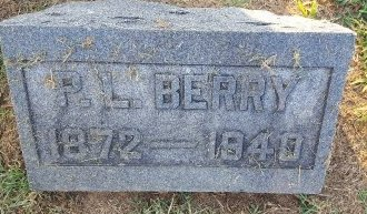 BERRY, PL - Union County, Kentucky | PL BERRY - Kentucky Gravestone Photos