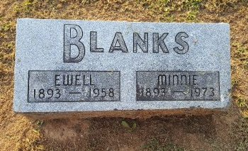 BLANKS, EWELL - Union County, Kentucky | EWELL BLANKS - Kentucky Gravestone Photos