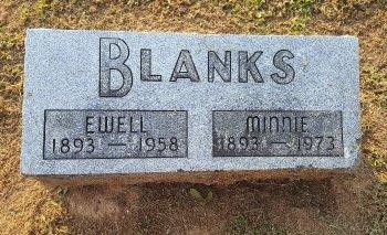 BLANKS, MINNIE - Union County, Kentucky | MINNIE BLANKS - Kentucky Gravestone Photos