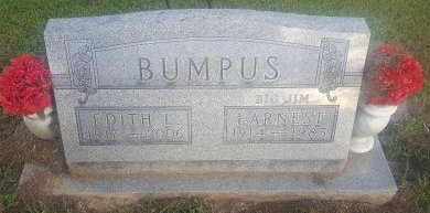 BUMPUS, EARNEST - Union County, Kentucky | EARNEST BUMPUS - Kentucky Gravestone Photos