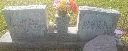 BURKE, JESSE A - Union County, Kentucky | JESSE A BURKE - Kentucky Gravestone Photos