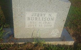 BURLISON, JERRY N - Union County, Kentucky | JERRY N BURLISON - Kentucky Gravestone Photos