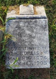 BURLISON, LEVA J - Union County, Kentucky | LEVA J BURLISON - Kentucky Gravestone Photos