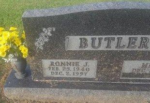 BUTLER, RONNIE J - Union County, Kentucky | RONNIE J BUTLER - Kentucky Gravestone Photos