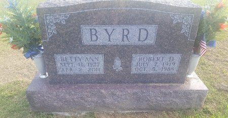 BYRD, BETTY ANN - Union County, Kentucky | BETTY ANN BYRD - Kentucky Gravestone Photos