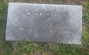 BYRD (VETERAN), ROBERT D - Union County, Kentucky | ROBERT D BYRD (VETERAN) - Kentucky Gravestone Photos