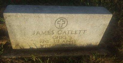 CATLETT (VETERAN WW1), JAMES - Union County, Kentucky | JAMES CATLETT (VETERAN WW1) - Kentucky Gravestone Photos
