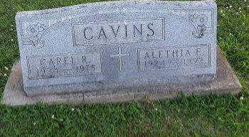 CAVINS, CAREL R - Union County, Kentucky   CAREL R CAVINS - Kentucky Gravestone Photos