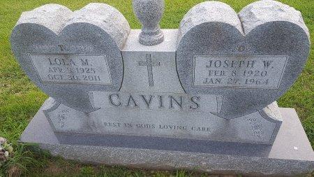 CAVINS, JOSEPH W - Union County, Kentucky | JOSEPH W CAVINS - Kentucky Gravestone Photos