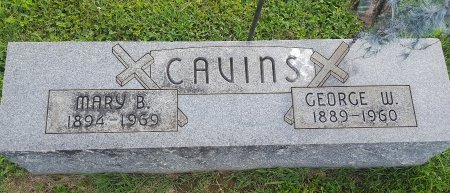 CAVINS, MARY B - Union County, Kentucky | MARY B CAVINS - Kentucky Gravestone Photos