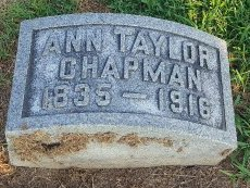 TAYLOR CHAPMAN, ANN - Union County, Kentucky | ANN TAYLOR CHAPMAN - Kentucky Gravestone Photos