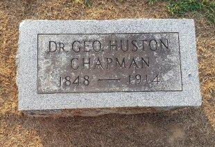 CHAPMAN, GEORGE HUSTON - Union County, Kentucky | GEORGE HUSTON CHAPMAN - Kentucky Gravestone Photos