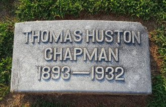 CHAPMAN, THOMAS HUSTON - Union County, Kentucky | THOMAS HUSTON CHAPMAN - Kentucky Gravestone Photos